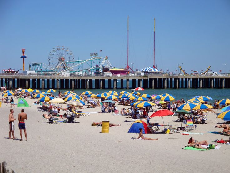 Jersey's Boardwalks - Atlantic City | The mother of all boardwalks was brought to Jersey in 1870 as the world's first, holds another crown for being the longest. Food, helicopter rides, games, and rides are all at the Steel Pier Amusement Park. Don't forget to try the salt water taffy, another Atlantic City original. Remember how Boardwalk was the most expensive property in Monopoly? it's referring to AC's boardwalk.