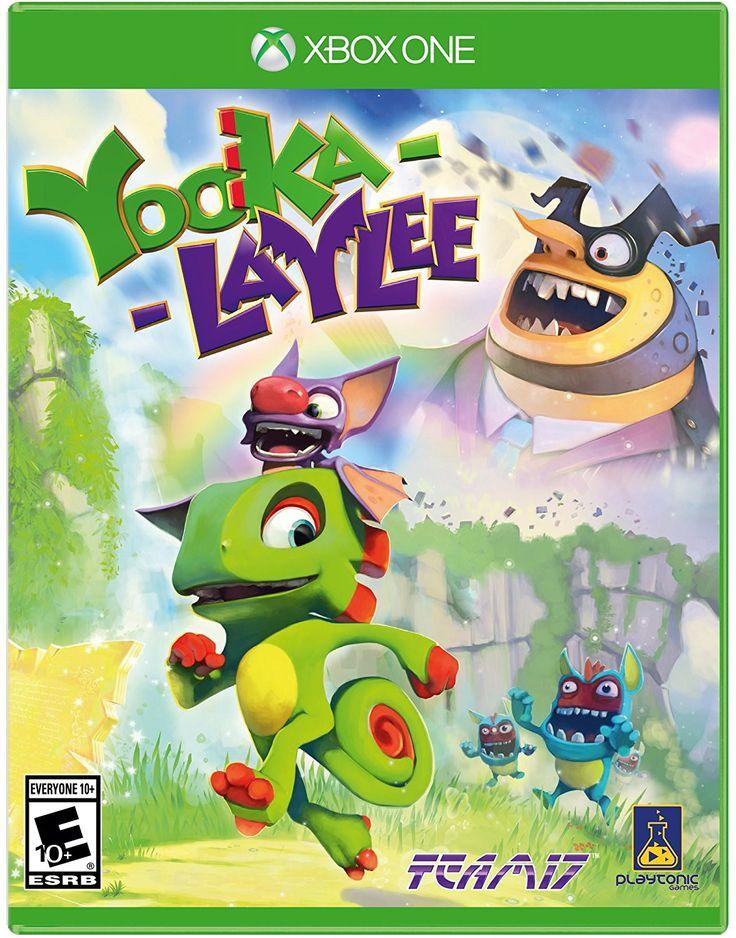Yooka-Laylee Pre-Order For Xbox One (Physical Disc) #xboxone #xbox360 #xboxstuff