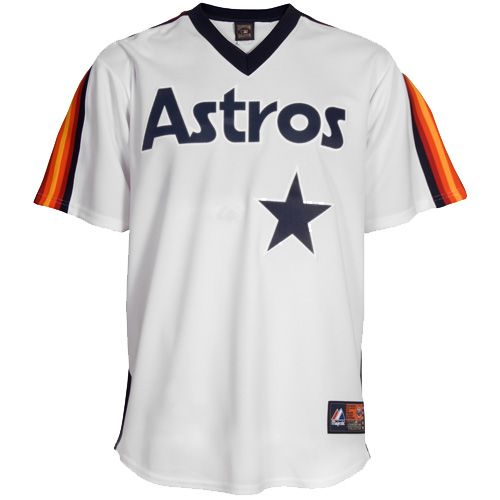b7d08d1e MLB Majestic Houston Astros Replica Cooperstown Throwback Jersey | Houston  Astros | Houston astros, Mlb, Astros apparel
