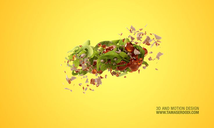 3D / CGI Snackfood Visualisation  The goal was to create better images than what's possible in the real life. The delicious 3D rendered snacks with the ultrarealistic raw ingredients given the package and promotion a really tasty look. http://tamaserdodi.com  #3D #food #render #explode #ingredients #raw #spinach #lemon #kale #peanuts