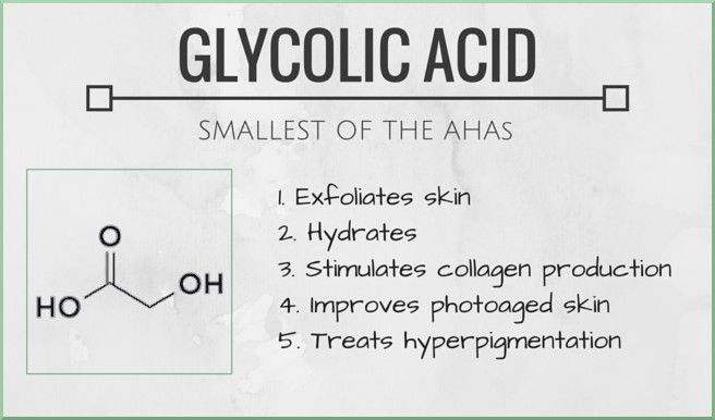 Glycolic acid is a skincare hero. It hydrates and exfoliates skin, reduces hyperpigmentation, stimulates the production of collagen and even helps improve the appearance of sun damaged skin. Click through to find out more about it and why you should use it.
