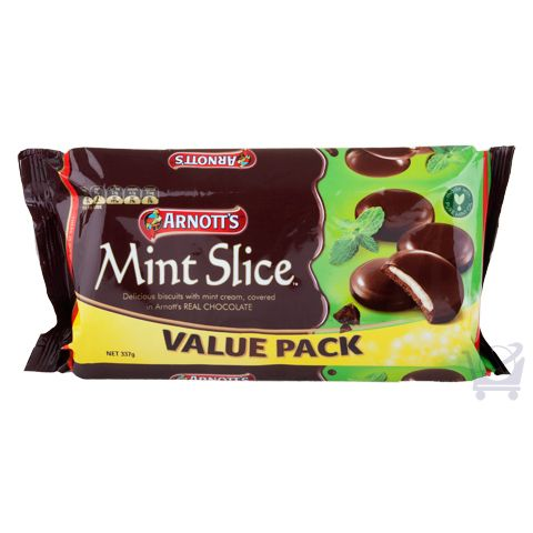 Mint Slice Value Pack – Arnott's – 337g | Shop Australia