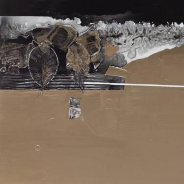 "Saatchi Art Artist Aljona Shapovalova; Painting, ""Space of Silence Part I"" #art"