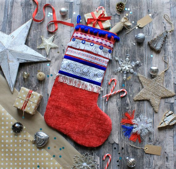 Britannia Christmas Stocking - Large