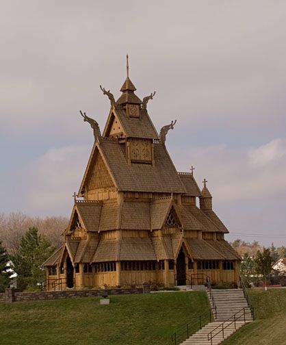 Minot Stave Church, ND
