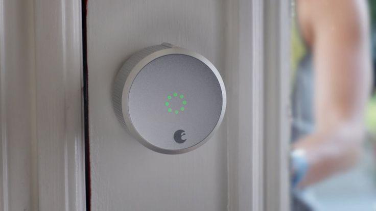 August Smart Lock - intelligentes Türschloss mit HomeKit Support. Haustür per Bluetooth oder per Spracheingabe (Siri von Apple) bedienen.