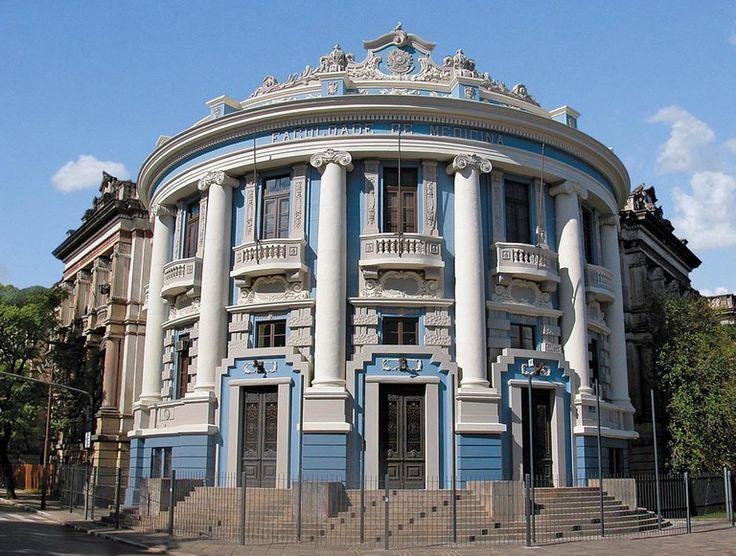 Porto Alegre (RS) - Brasil - antiga faculdade de Medicina, atual Centro Cultural da UFRGS