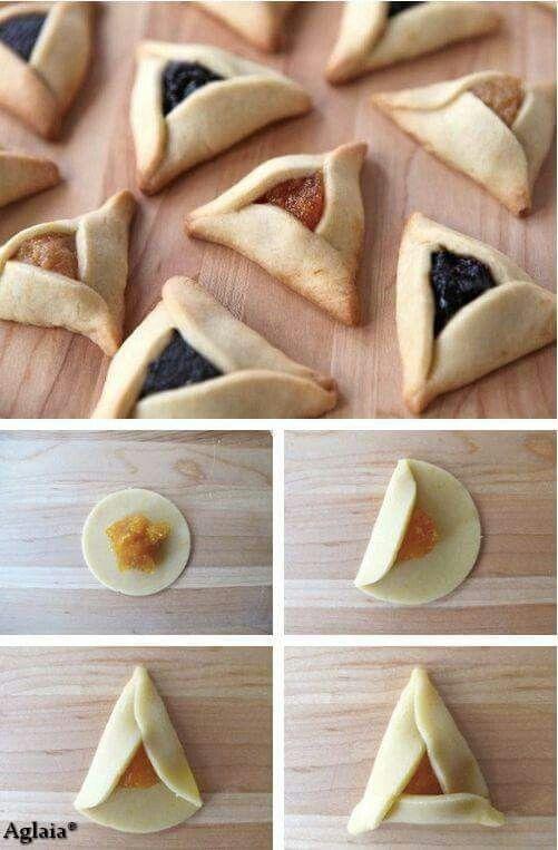 Triangolo pasta frolla