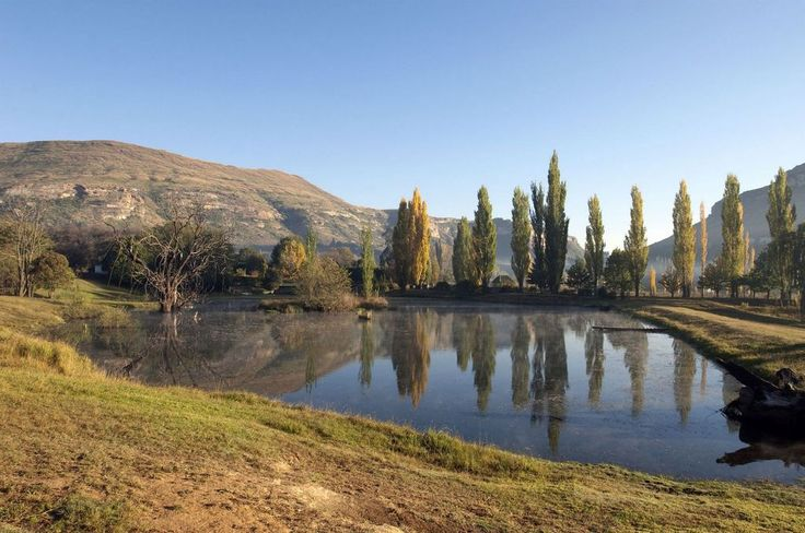Lake near Clarens, Eastern Free State, South Africa | Flickr - Photo Sharing!