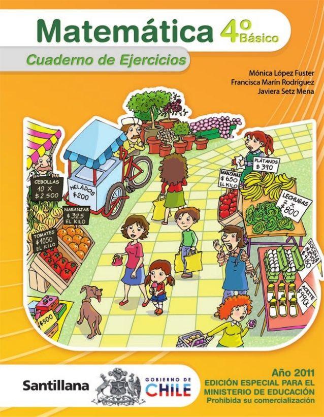 4º Básico Cuaderno de ejercicios Bienvenidos Nombre: Colegio:
