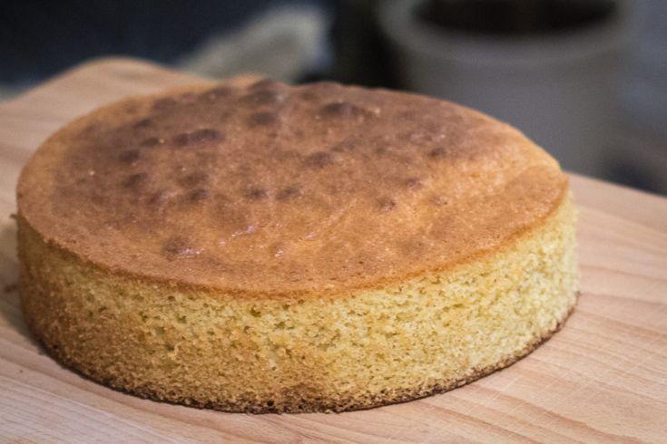 Opskrift på sponge cake