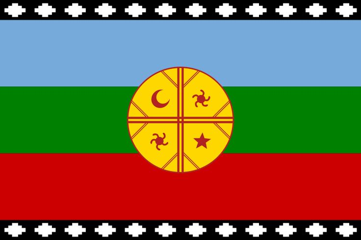 Flag of the Mapuches