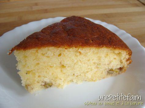 Gâteau yaourt banane