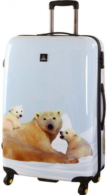 National Geographic | Nature of Love | 78 x 52 x 29 cm | #Eisbären #Reisen #Urlaub #Reisegepäck #animalprint