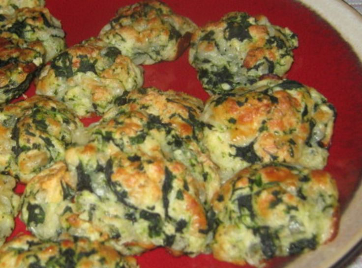 Spinach Balls | Culinary Deliciousness | Pinterest