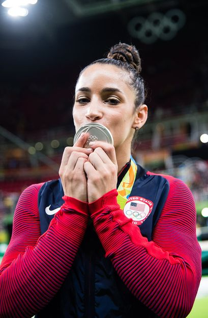 Aly Raisman (USA) 2016 Olympic Games: All Around Final (x)