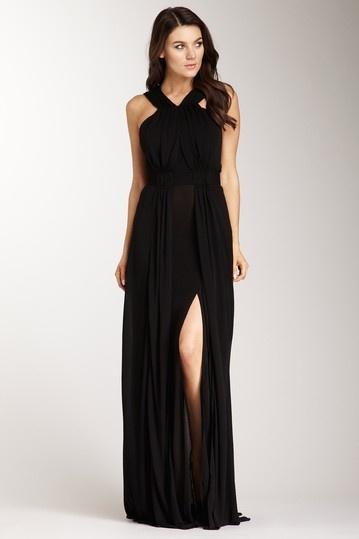 issa london sleeveless v-neck dress with shirring