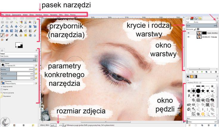 retusz skóry zdjęcia GIMP | fotografia makijażu - poradnik dla fotografów, obróbka w Gimpie