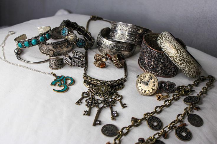 FINN – Bohem, Boho, Steampunk Smykker