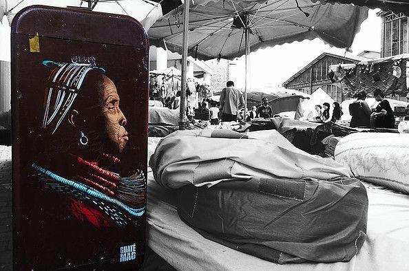 Guaté Mao jour de marché Saint Denis