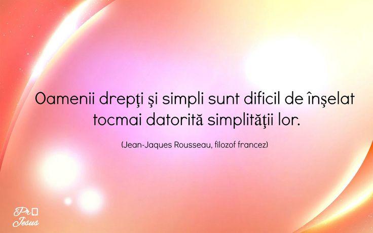 Citatul zilei: Jean-Jacques Rousseau