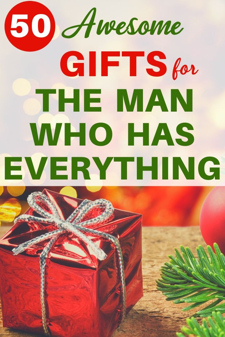 Christmas Gift Ideas For Husband Who Has Everything 2020 Christmas Gifts For Husband Gifts For Old Men Christmas Gifts For Men
