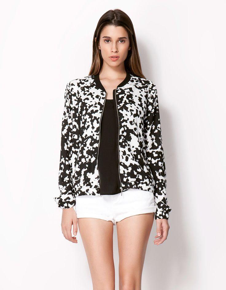 Bershka Belgium - Bershka animal print jacket
