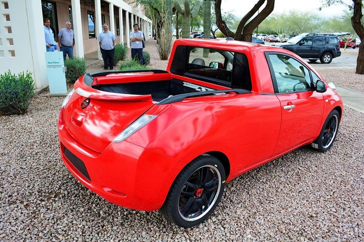 Nissan's One-Off Leaf Pickup Truck Is One Cute Electric Ute  ... see more at InventorSpot.com