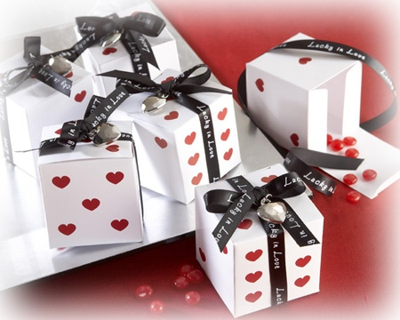 40 best las vegas wedding images on pinterest birthdays casino lucky in love dice favor boxes with imprinted ribbon and heart charm set of buy dice favor boxes wholesale wedding supplies discount wedding favors junglespirit Images