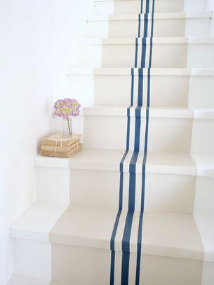grain sack stairs.