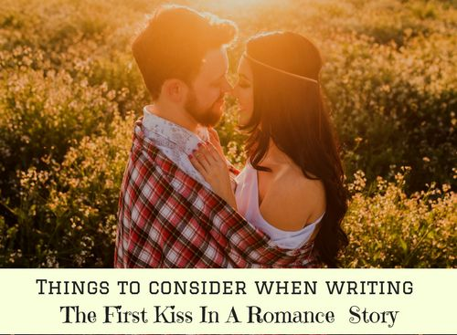 The first kiss between the hero and heroine is a huge turning point for a romance story. Up until this point both the hero and heroine will have been denying their true feelings, casting smo…