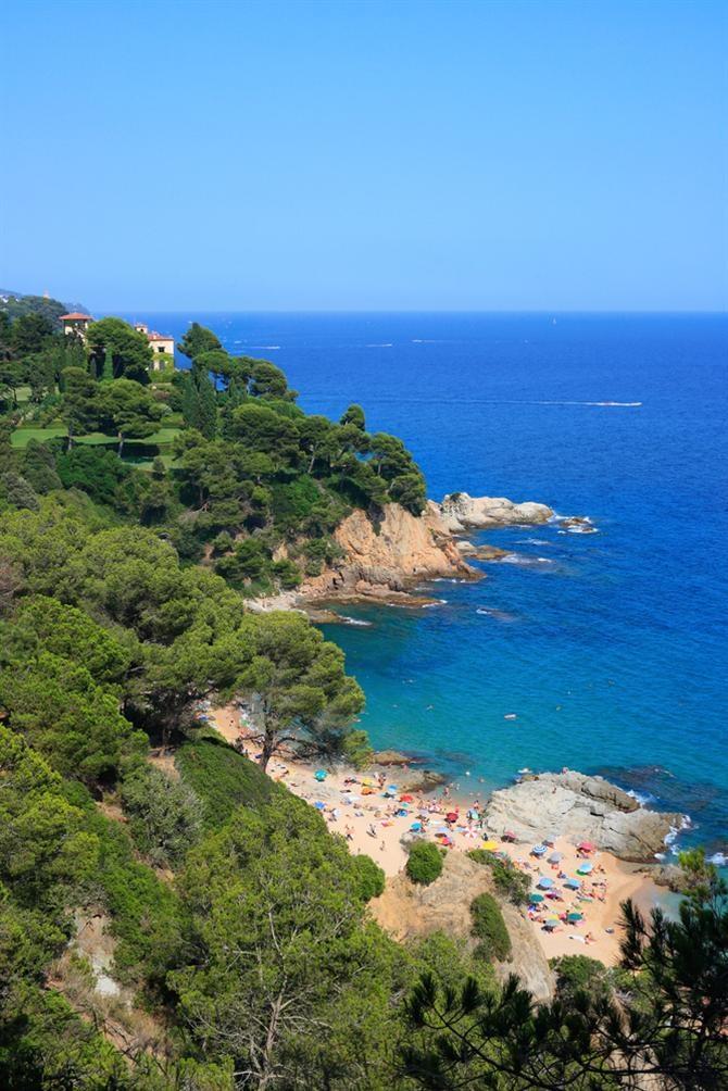 Cala Boadella - Lloret de Mar (Espagne)