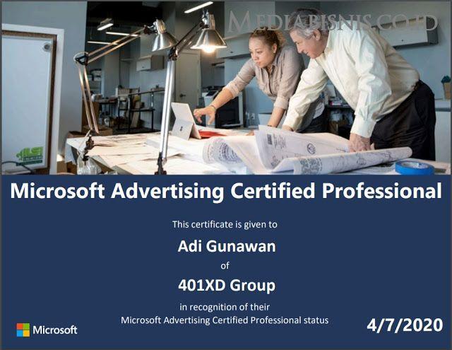 112 Soal Dan Jawaban Microsoft Advertising Certified Professional Pemasaran Digital Marketing Science