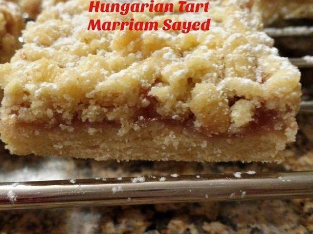 Shortbread Jam Fingers/ Hungarian Tart