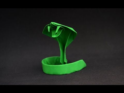 Origami: Snake - Vu Dung and here https://www.youtube.com/watch?v=iPfDMyxjNVc&t=500s (uses wire to do coil and I like the way he finishes the tail) youtube.com/watch?v=iPfDMyxjNVc&t=500s