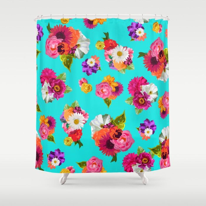 Shower Curtains And Blue Rose Print,Curtains.Printable Coloring ...