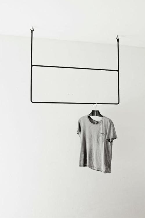 iron clothing rack by anna lee nashem