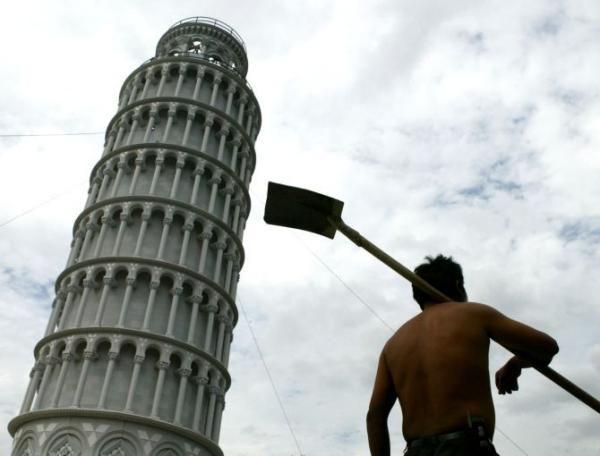 Imitaciones de grandes monumentos | Lugares famosos que han sido copiados por los chinos - Yahoo Noticias