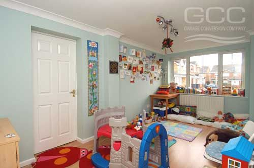 Turn Your Garage Into A Nursery Or A Playroom Kids Space