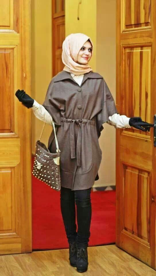Fall look Hijab