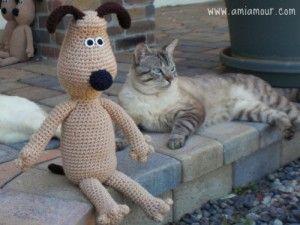 Amigurumi Lion Perritos : 131 best perritos gatitos de ganchillo images on pinterest