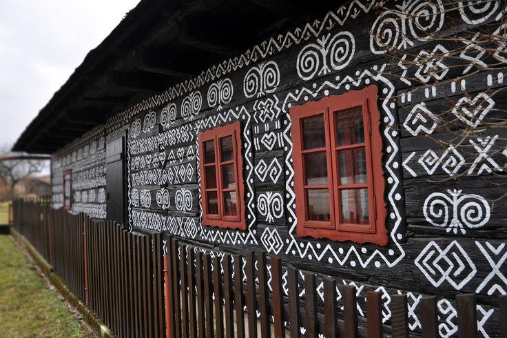 čičmany - ľudová architektúra