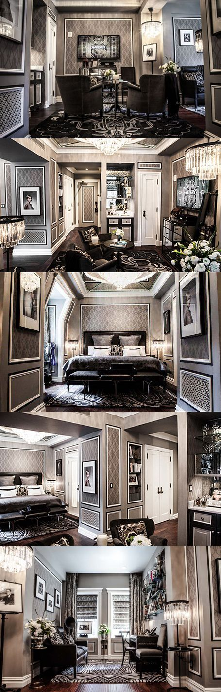 The New York Plaza hotel's new Great Gatsby suite. This is on my bucket list!!! Only $2770 a night! Ha