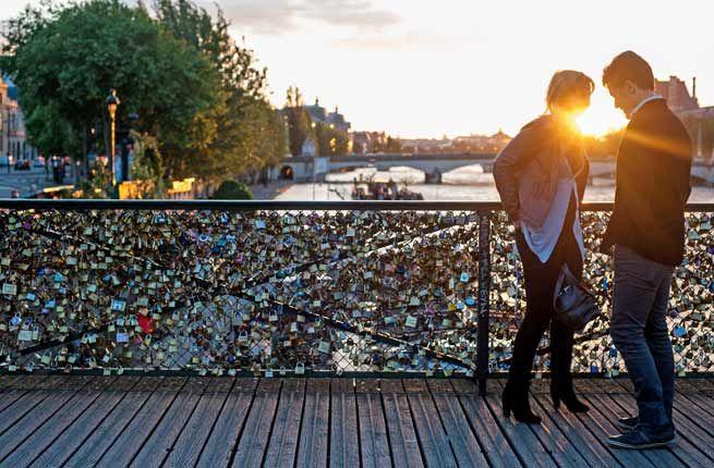 15 Most Romantic Getaways Around the World | Fodors | Love locks on the Pont des Arts