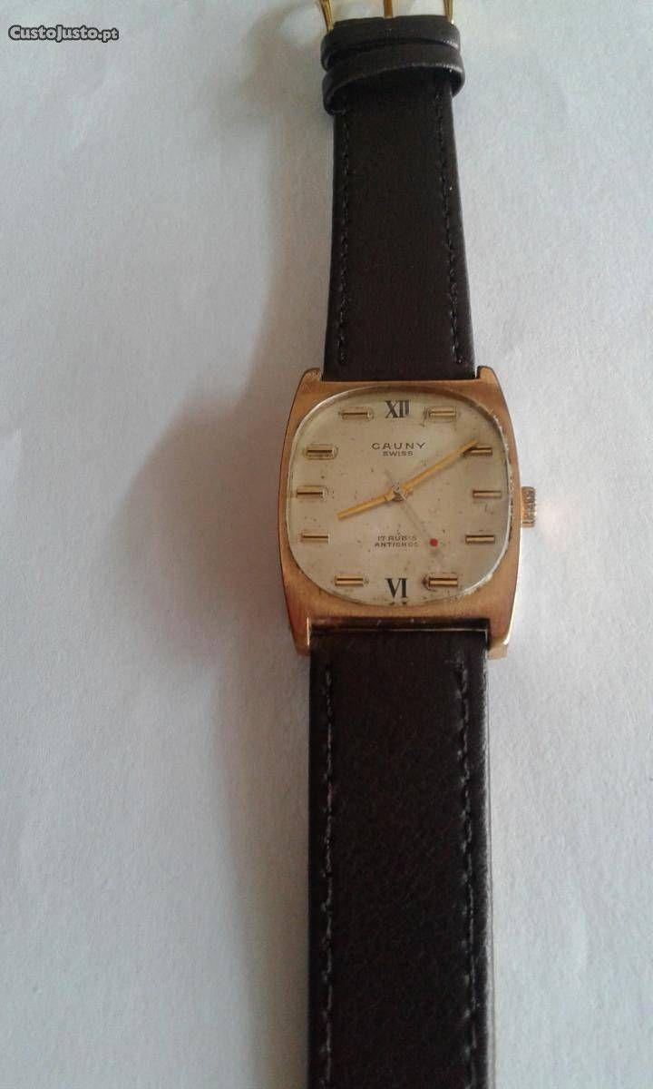 0b4631f0bd6 Relógio de coleção Cauny Swiss. - à venda - Antiguidades e Colecções ...