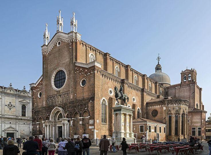 Церковь Санти Джованни э Паоло (Сан Дзаниполо) в Венеции. 1333- после 1430.