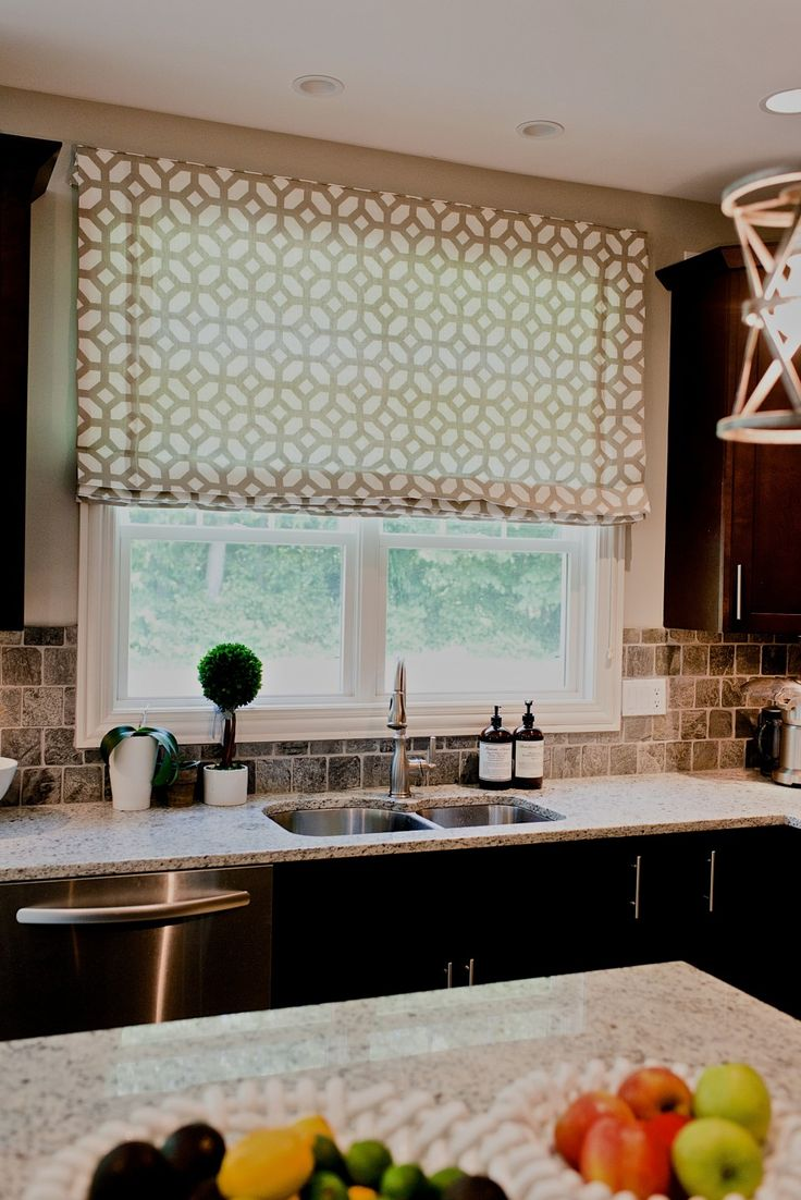 Kitchen Shades And Curtains 17 Best Images About Roman Shades On Pinterest Window Treatments