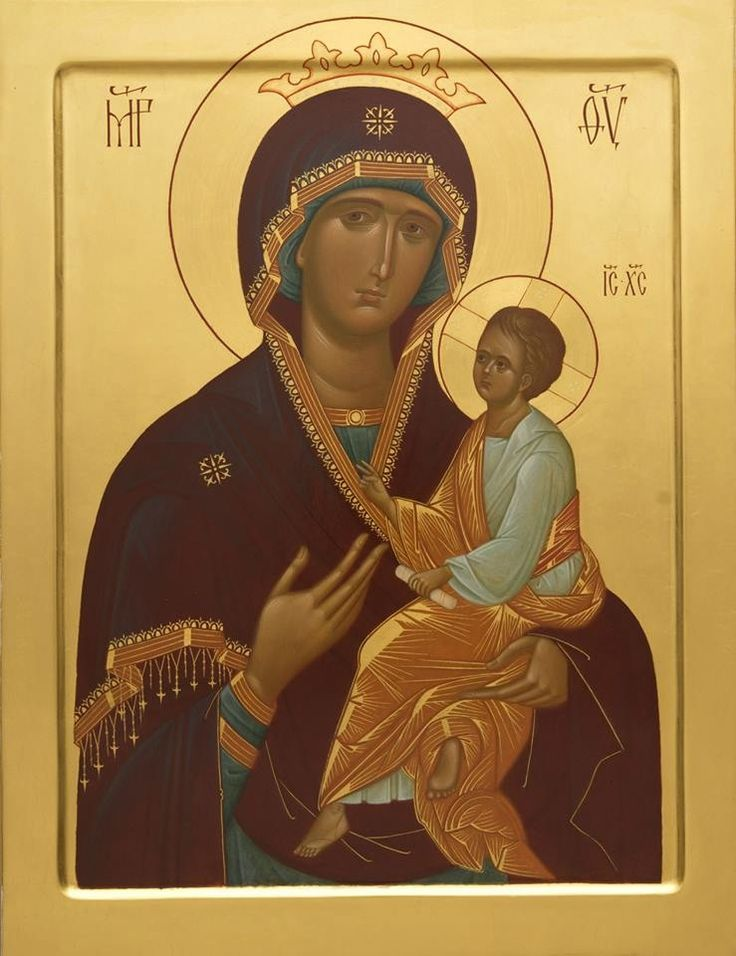 """Icon of the Mother of God """"Quick to Hear""""."""