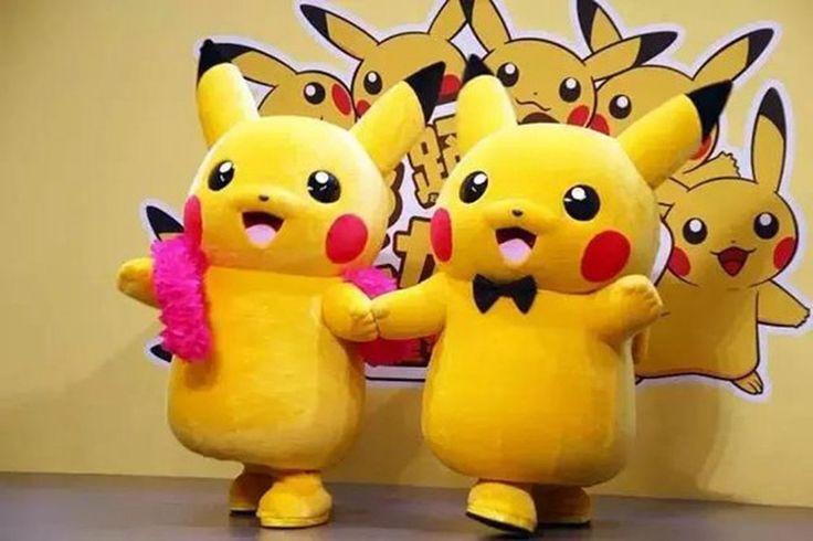 japanese mascot costume Pikachu Mascot Costume Fancy Dress Outfit Pikachu Mascot More