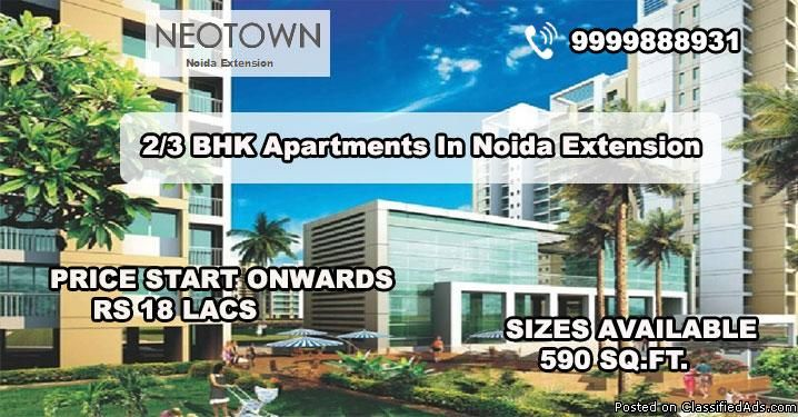 Patel manufacturer, the superb developer has launched their wonderful residential project Patel Neotown at eccentric area of Noida Extension and Delhi NCR. The residency is fully surrounded with green location with the desirable adjacent destinations with low price.Patel Neo town Noida Extension Amenities:-24*7 Power Back up and water supply Eco Friendly environment Security under CCTV cameras Noida Restaurant & Clubhouse Lower maintenance charge Basement parking Cafeteria and ...